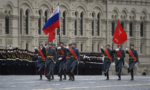 Nga tái hiện duyệt binh lịch sử năm 1941