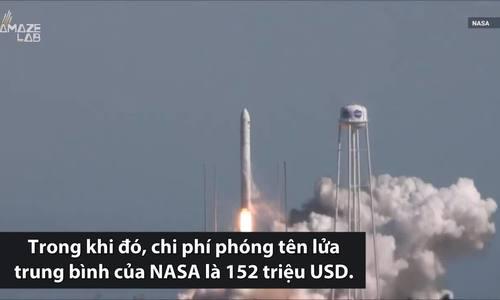 SpaceX dự định phóng tên lửa với chi phí bằng 1% NASA