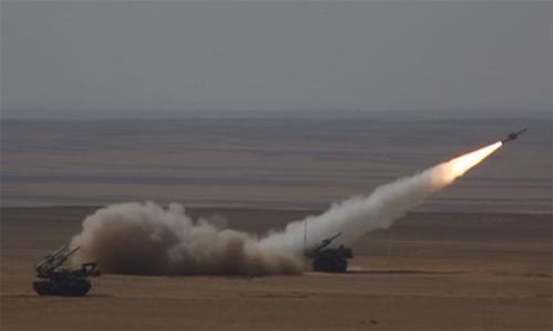 Tên lửa Nga hạ máy bay không người lái Anh, Mỹ