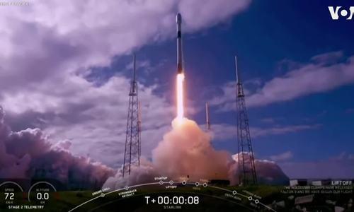 SpaceX phóng cùng lúc 60 vệ tinh