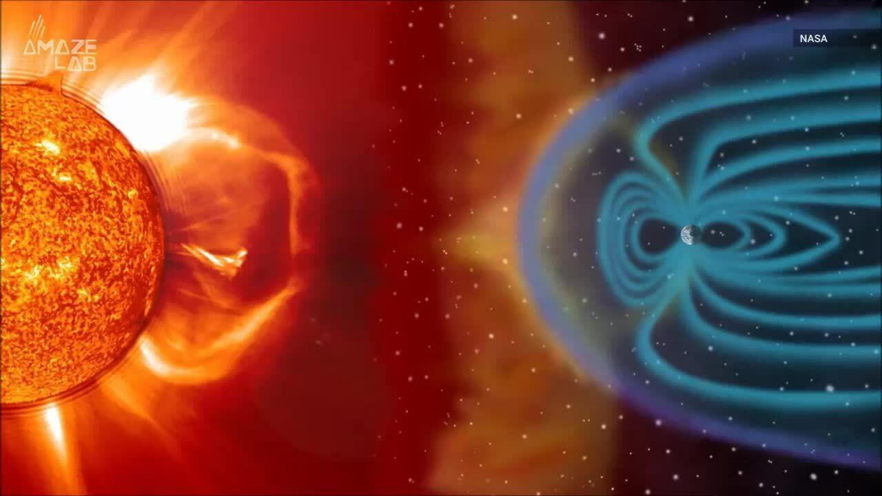 Âm thanh của Trái Đất khi gặp bão Mặt Trời