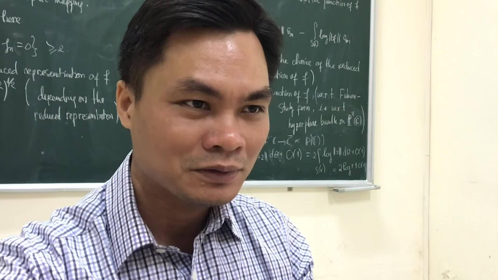 Con đường thành giảng viên Toán của giáo sư trẻ nhất năm 2019