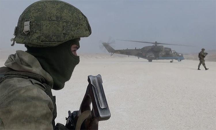 Nga tiếp quản căn cứ Mỹ tại Syria