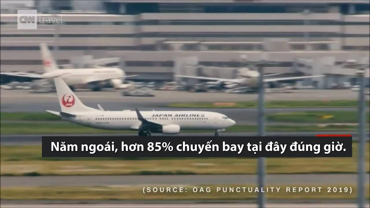 Sân bay đúng giờ bốn năm liên tiếp