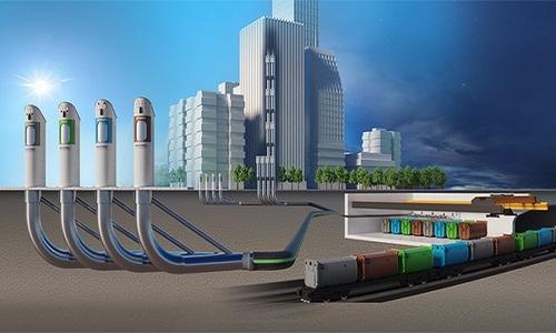 Hệ thống xử lý dưới lòng đất giúp xóa sổ bãi rác