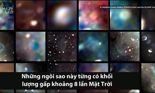 Ảnh chụp dải Ngân Hà với tàn dư của 27 sao cổ đại