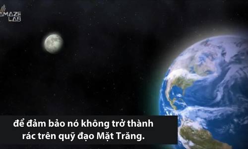 NASA phát hiện vị trí tàu Trung Quốc đâm xuống Mặt Trăng