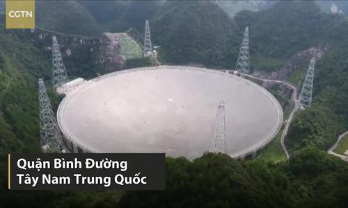 Kính viễn vọng vô tuyến lớn nhất sắp kết thúc thử nghiệm
