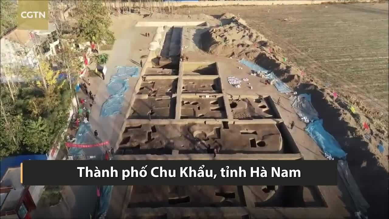 Phát hiện kho thóc 4.000 năm tuổi