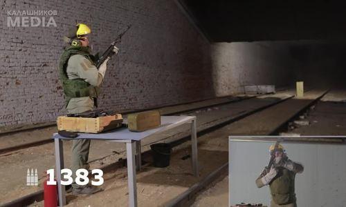 Súng AK-103 bắn tốt sau 1.400 phát đạn