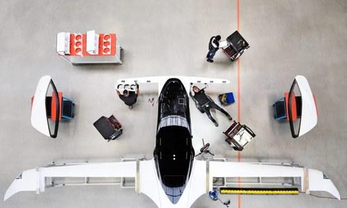Taxi bay giá rẻ của startup trong tương lai
