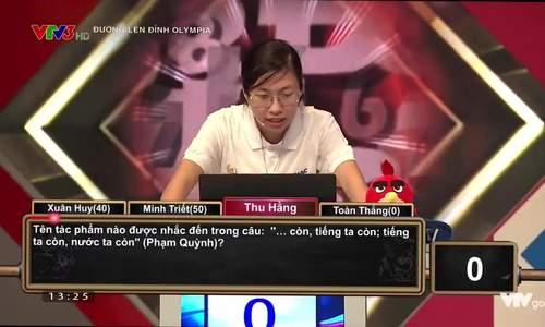 Phần Khởi động của Nguyễn Thị Thu Hằng