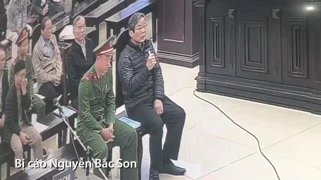 Nguyễn Bắc Son giữ nguyên lời khai