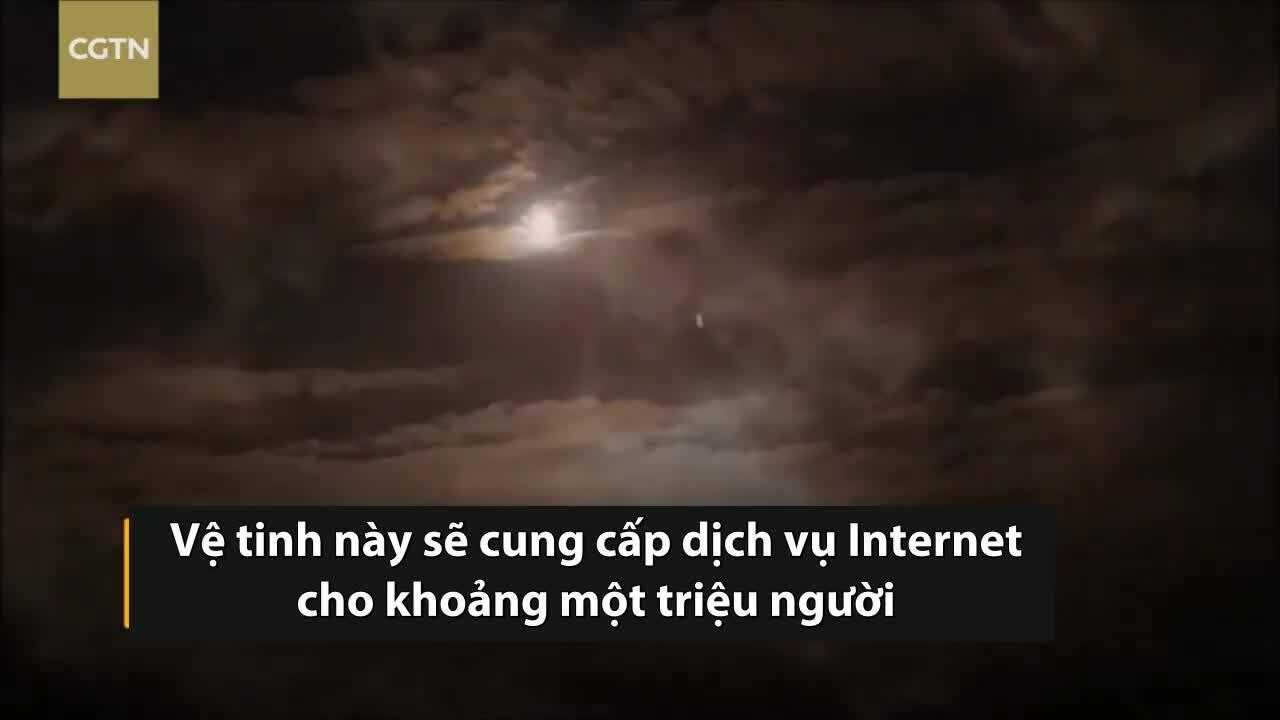 SpaceX phóng vệ tinh lên độ cao 35.000 km