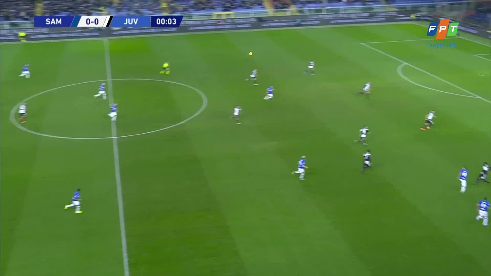 Sampdoria 1-2 Juventus