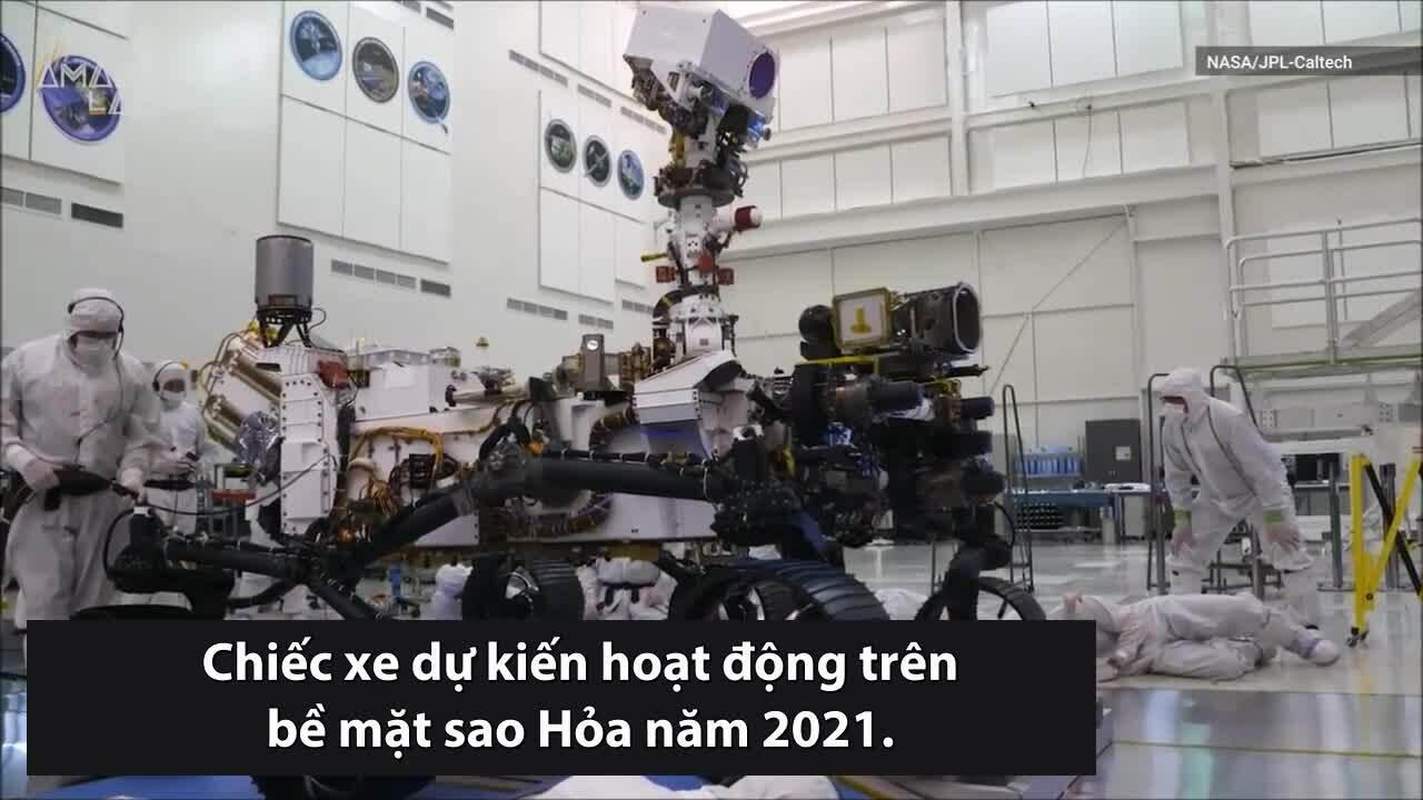 NASA thử nghiệm xe thám hiểm sao Hỏa mới