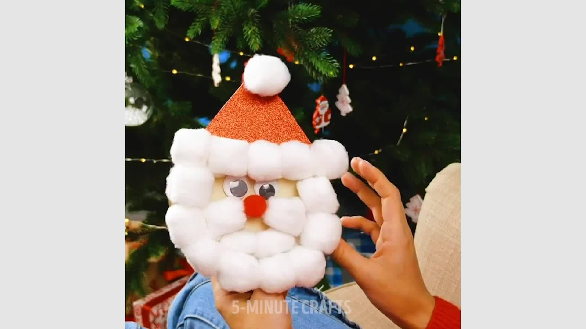 Giúp trẻ sáng tạo thiệp Giáng sinh
