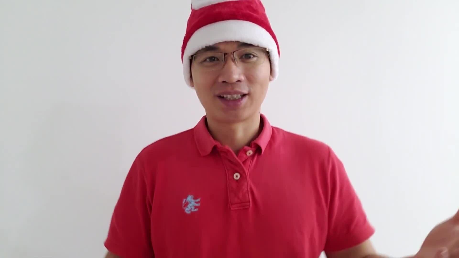 Phát âm các từ tiếng Anh về Giáng sinh