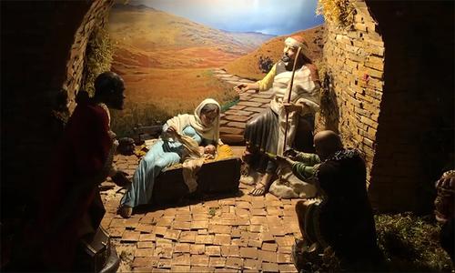 Vatican dựng cảnh Chúa giáng sinh