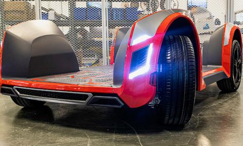 Công nghệ gắn trực tiếp động cơ điện lên bánh xe