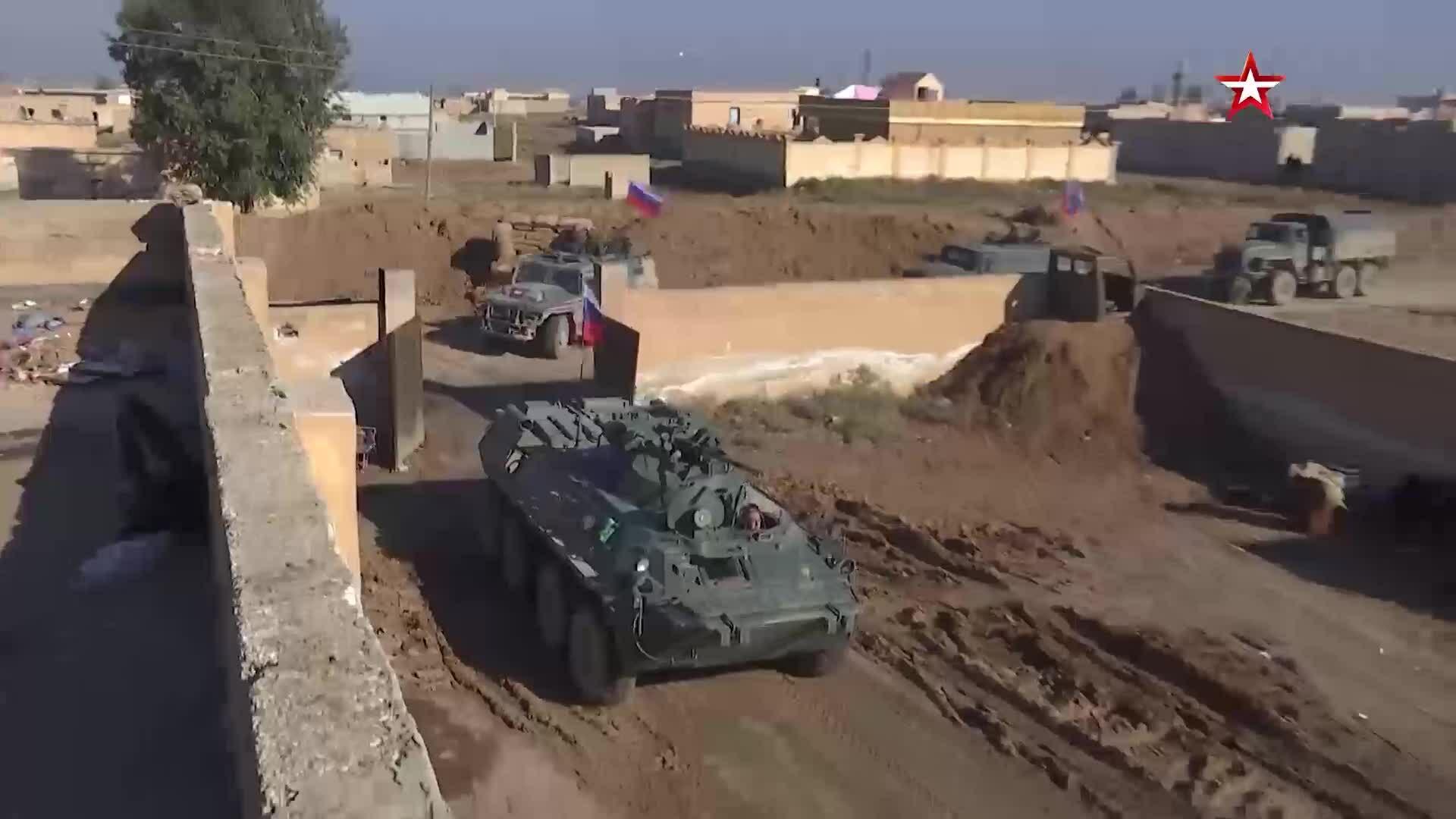 Quân đội Nga tiếp quản thêm căn cứ Mỹ tại Syria
