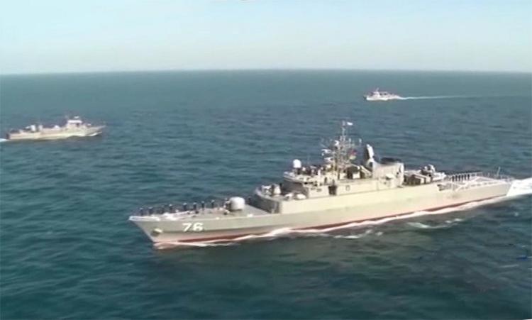 Iran, Nga, Trung Quốc lần đầu tập trận chung