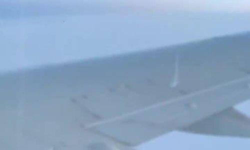 Máy bay chở khách cháy động cơ