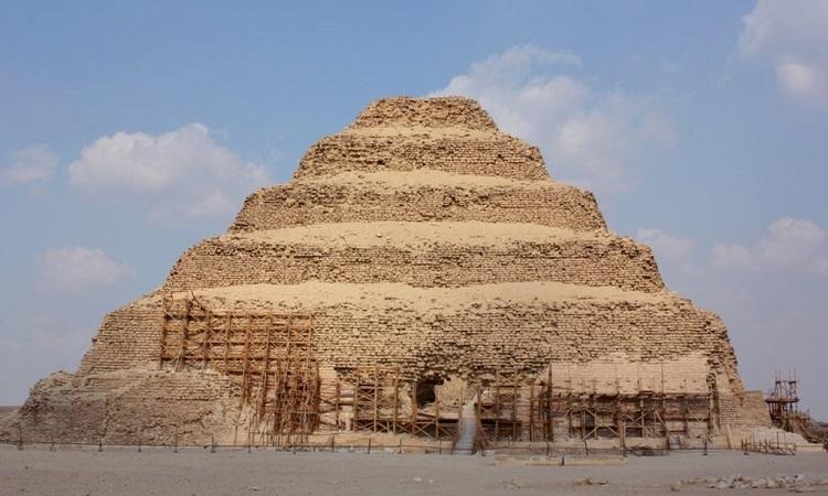 Kim tự tháp cổ nhất Ai Cập mở cửa trở lại