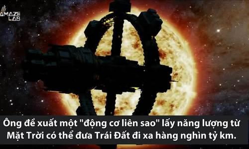 Ý tưởng dịch chuyển cả hệ Mặt Trời để cứu Trái Đất