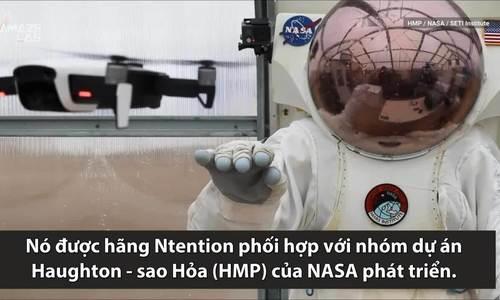 Găng tay thông minh giúp phi hành gia điều khiển robot