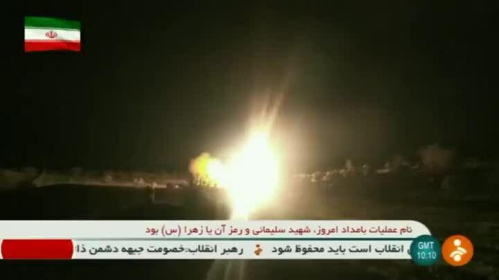 Iran tung video phóng tên lửa tới căn cứ Mỹ