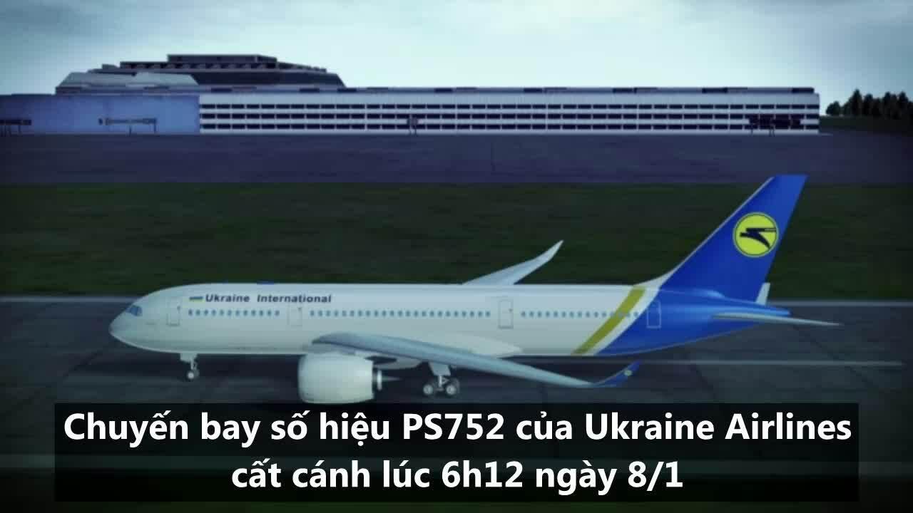 Máy bay Ukraine mất tín hiệu hành trình trước khi rơi