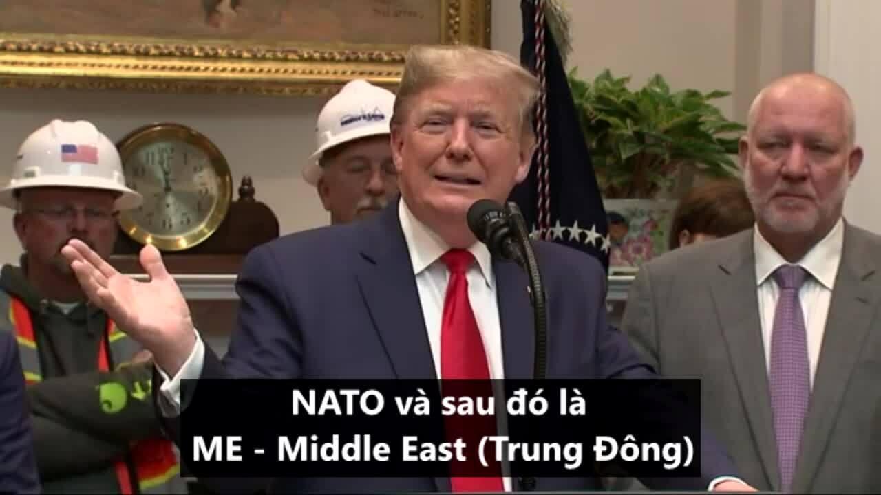 Trump đề xuất tên mới cho NATO