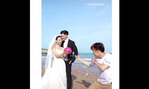 Hậu trường lầy lội của những bức ảnh cưới nghệ thuật