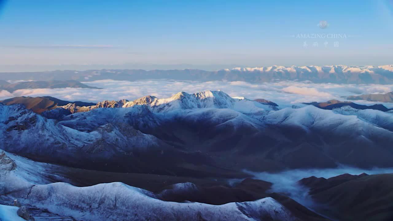 Hàng nghìn sông băng giữa sa mạc Trung Quốc