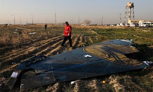 Thảm kịch hàng không do sai lầm của Iran