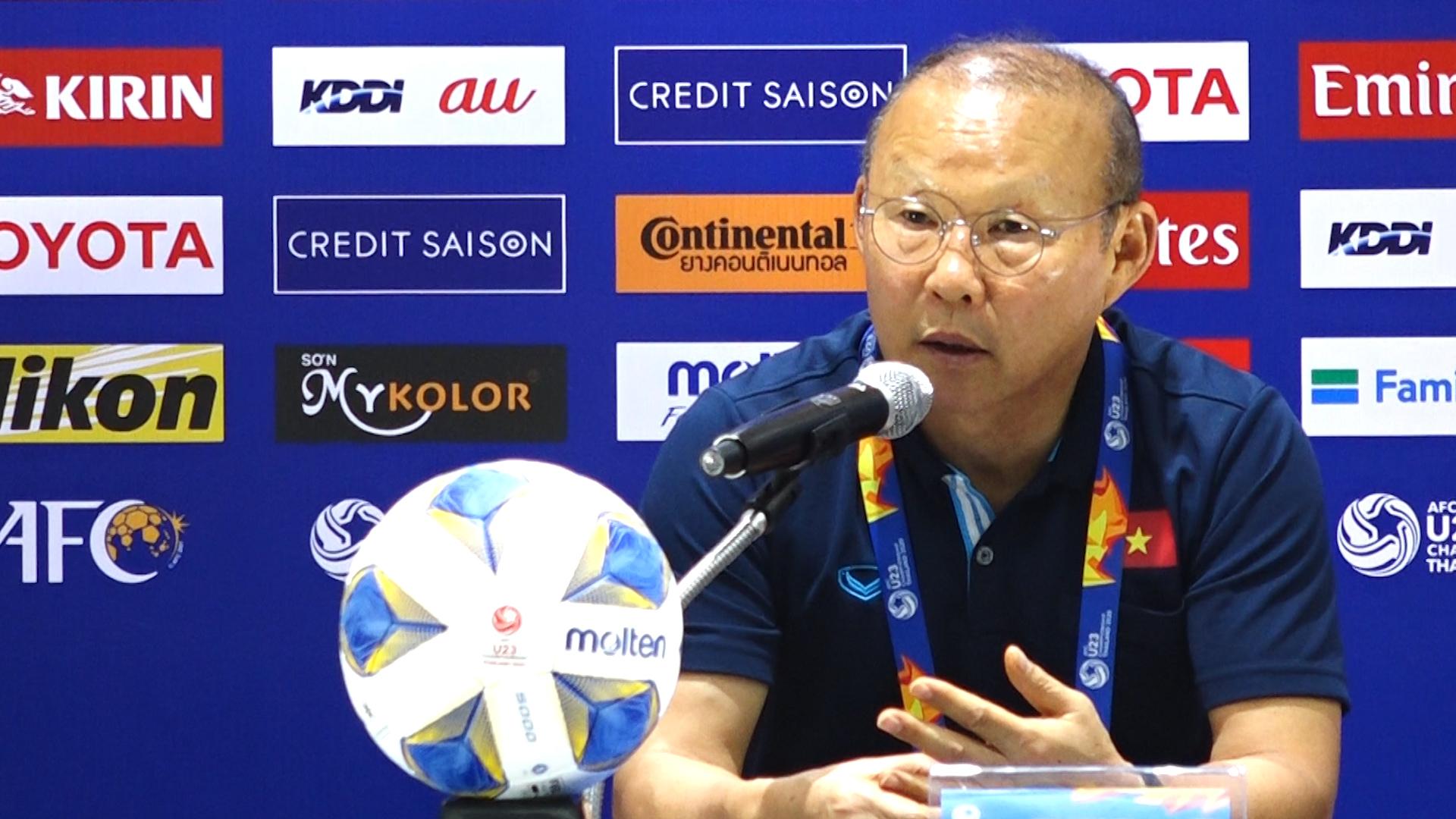 Ông Park: Chúng tôi sẽ tập trung cho vòng loại World Cup