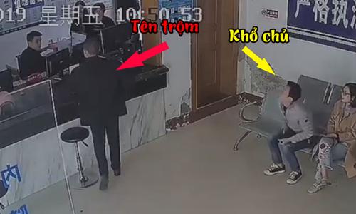 Tên trộm bị tóm vì đến đồn cảnh sát khiếu nại
