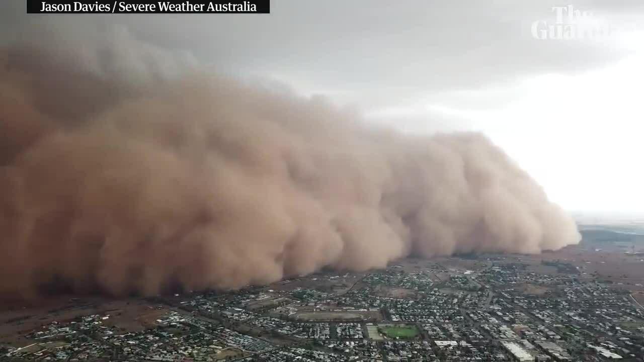 Bão bụi càn quét bang Australia