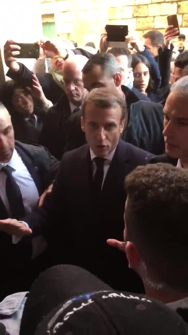 Tổng thống Pháp nổi giận với cảnh sát Israel