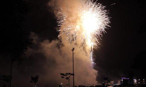 Pháo hoa chào năm mới Bà rịa vũng tàu