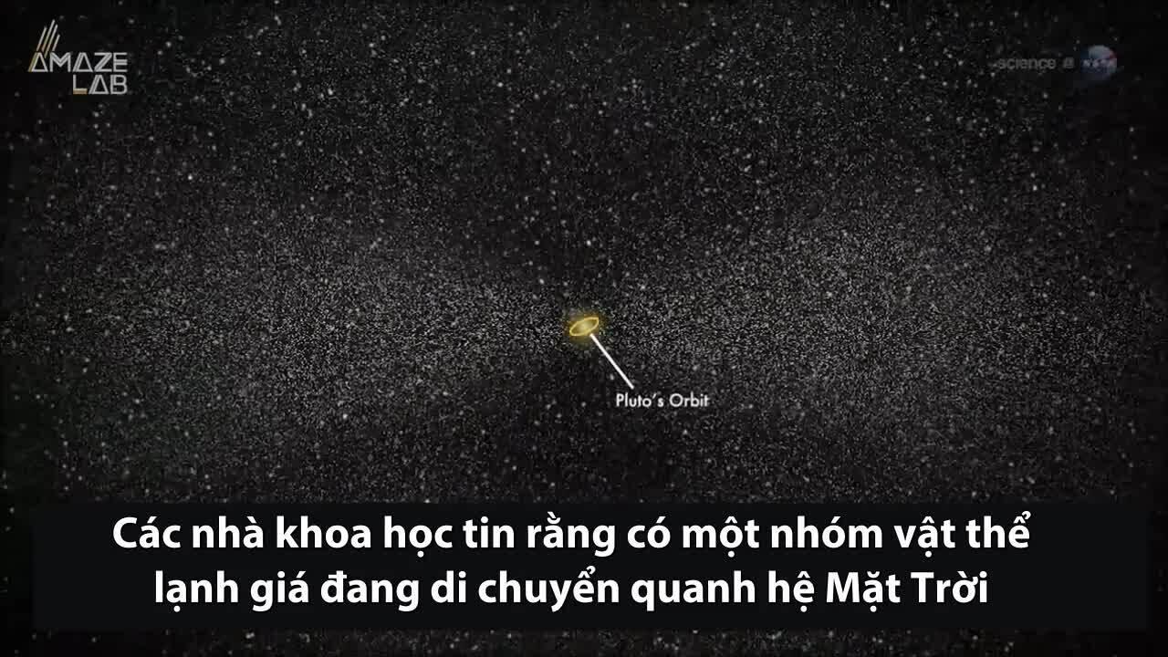 Đám mây chứa hàng tỷ thiên thể bao quanh hệ Mặt Trời