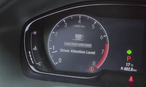 Hệ thống chống buồn ngủ trên Honda Accord