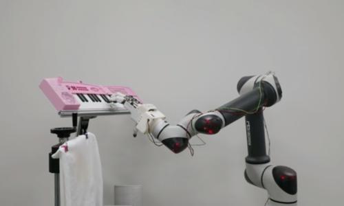 Bàn tay robot cầm nắm đồ vật linh hoạt