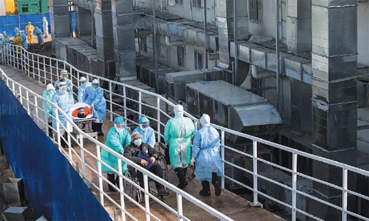 Bệnh viện dã chiến Vũ Hán hoạt động thế nào?