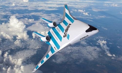 Airbus thử nghiệm máy bay cánh liền thân