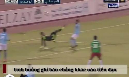 Thủ môn ghi bàn vào lưới nhà như tiền đạo