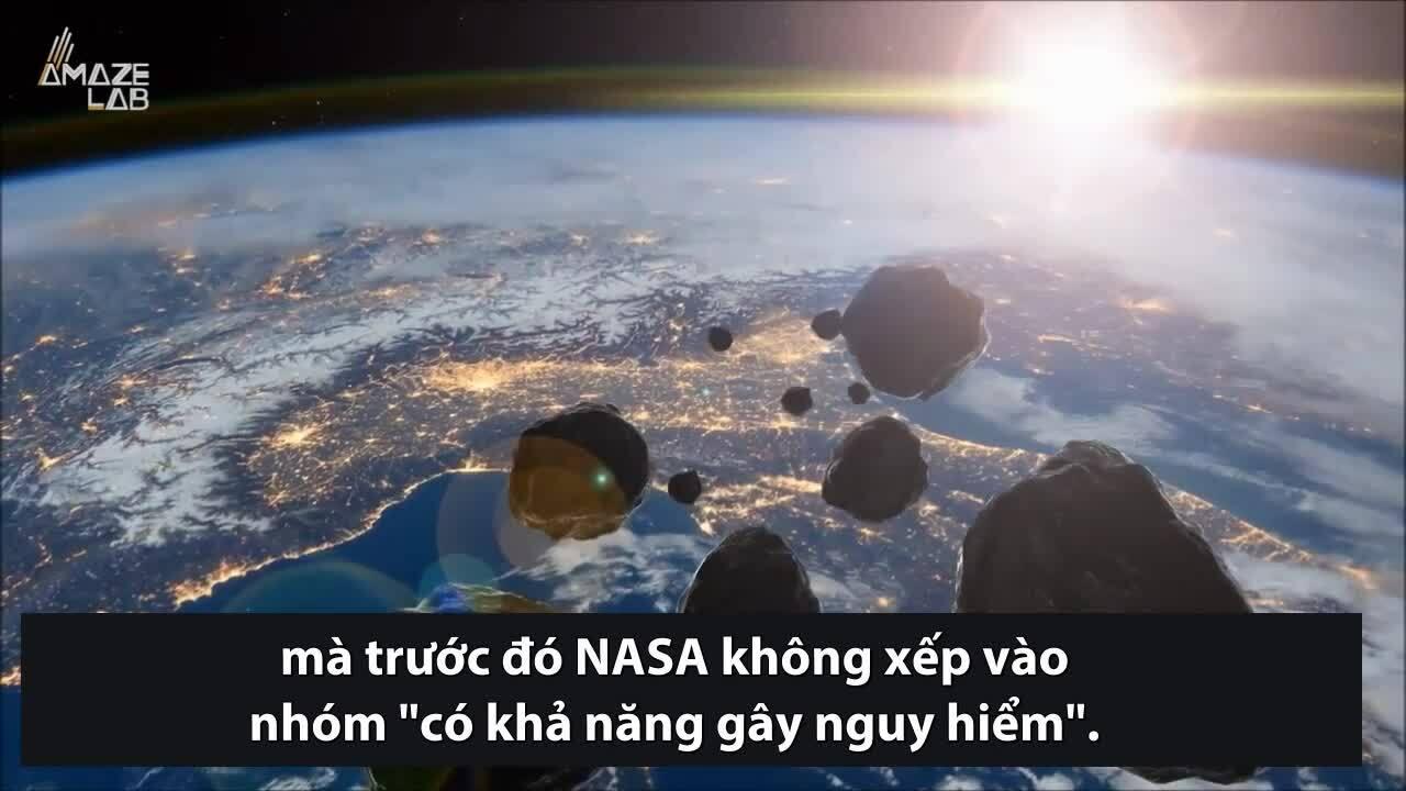Phát hiện 11 tiểu hành tinh có thể gây nguy hiểm