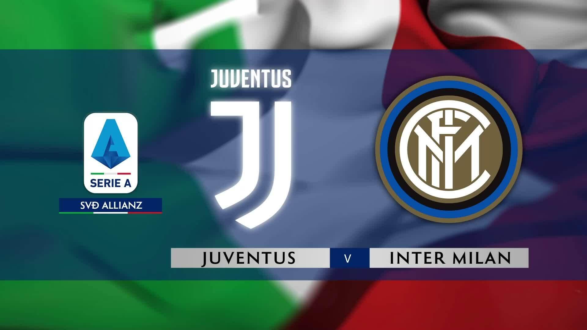Juventus 2-0 Inter Milan