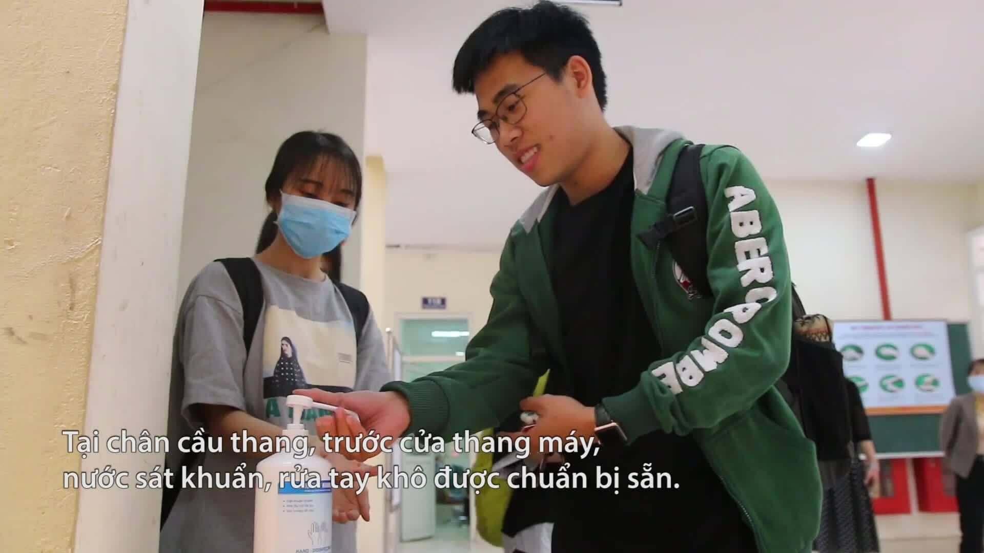 Biện pháp phòng dịch của Đại học Y Hà Nội